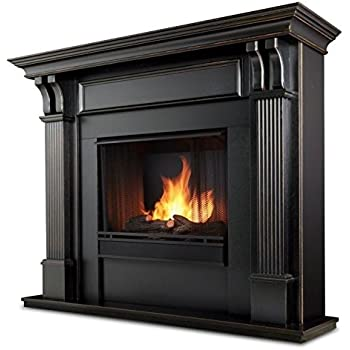 Amazon Com Real Flame Ashley Gel Fuel Fireplace In White