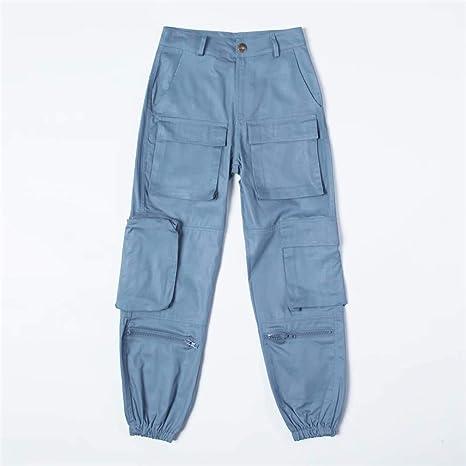 Sijux Pantalones de Mujer - Pantalones Deportivos de Cintura Media ...