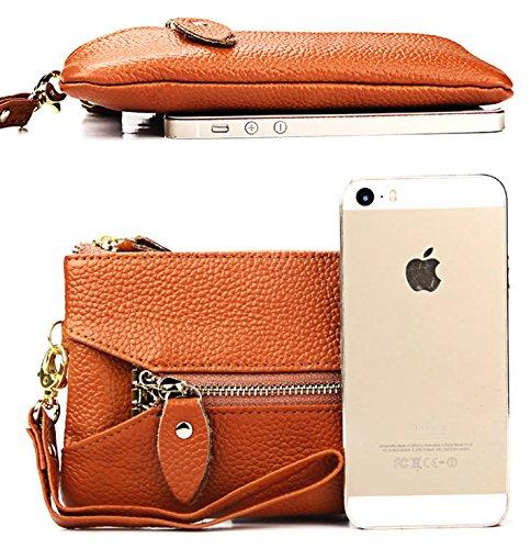 Damen Leder Geldbörsen Taschen Damen Portemonnaie Damen Geldbeutel Damenhandtasche,Brieftasche Kreditkartenetui Wallet,RFID-Diebstahlschutzmappe. Abschirmmaterial auswählen A
