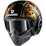 Shark Helmets DRAK Sanctus - CHROMEORANGE / BLACK - M
