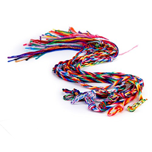Braided Threaded Friendship Bracelets Bracelet