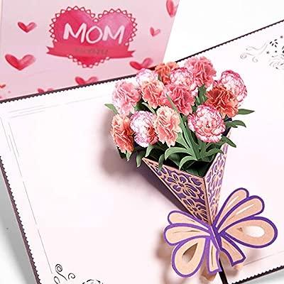 Tarjeta de felicitación para el Día de la Madre, 3D, regalo ...