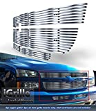 05 2500hd grill - 304 Stainless Billet Grille Grill Combo Fits 06 Chevy Silverado 1500/05-06 2500HD #N19-C37676C