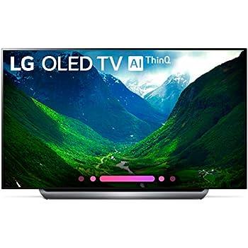 LG Electronics OLED77C8PUA 77-Inch 4K Ultra HD Smart OLED TV (2018 Model)
