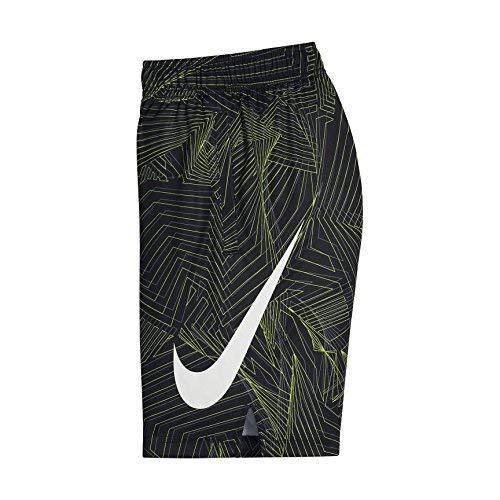 NIKE Big Kids' (Boys') Dri-FIT Training Shorts (Black(892490-010)/Cool Grey, X-Large)