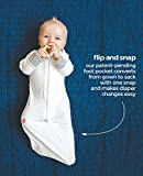 Baby Pajamas, Convertible Slip-On Sleep Sack