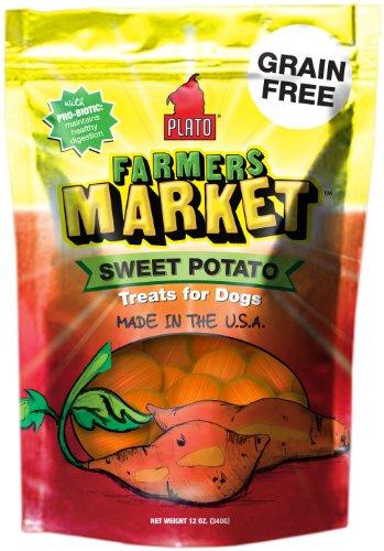 Plato Pet Treats Sweet Potato, 12-Ounce, My Pet Supplies