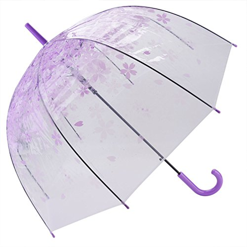 Clear Bubble Umbrella Automatic Flower
