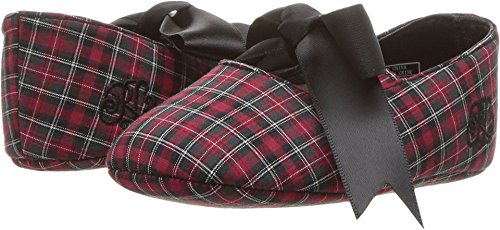 Polo Ralph Lauren Kids Baby Girl's Briley (Infant/Toddler) Red Tartan Plaid 2 M US Infant