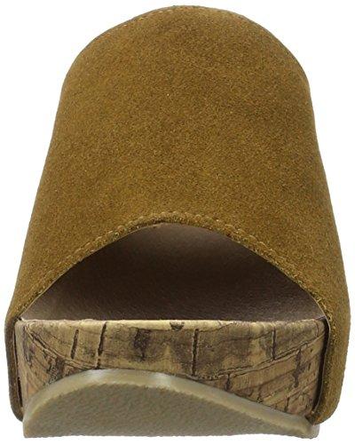 Andrea Conti 1541501 - Mules Mujer Marrón (Cognac)
