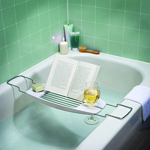 AmazonBasics Bathtub Caddy - in use