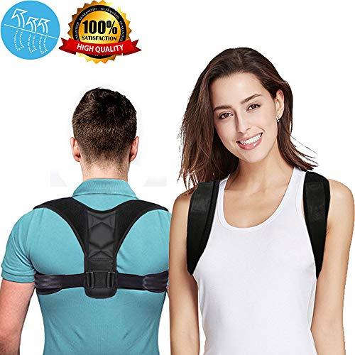 Premium Back Posture Corrector for Women & Men & Kids,Back Support Brace, Pain Relief Upper Back & Shoulder Brace, Perfect for Clavicle Support