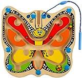 Hape Color Flutter Butterfly Magnetic Wooden Toddler Maze Puzzle