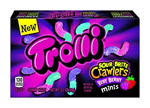 Trolli Sour Brite Crawlers Gummy Candy
