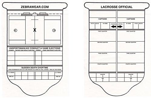 Lacrosse Stick Check/Scorecard by ZebraWear