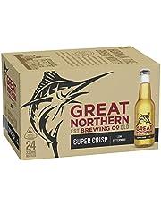 Great Northern Super Crisp Lager Beer Case 24 x 330mL Bottles