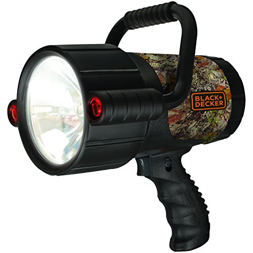 BLACK+DECKER VEC157BDC Camouflage Rechargeable Spotlight