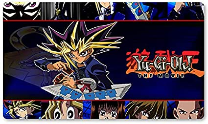 YGO 2004 Movie Wallpaper – Juego de mesa Yugioh Playmat Games Table Mat Tamaño 60 x 35 cm Mousepad MTG Play Mat para Yu-Gi-Oh! Pokemon Magic The Gathering: Amazon.es: Oficina y papelería