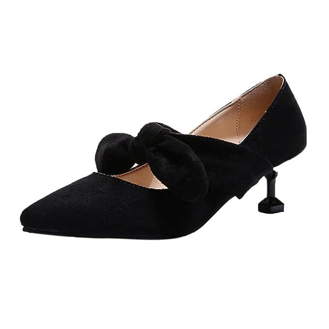 ¡Oferta de liquidación! Zapatos de mujer de Covermason Bombas de punta estrecha Zapatos Zapatos