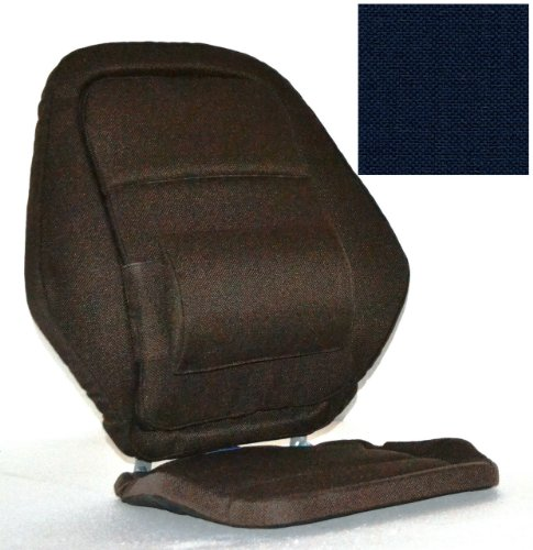 Deluxe Back Rest Finish: Blue by McCarty's
