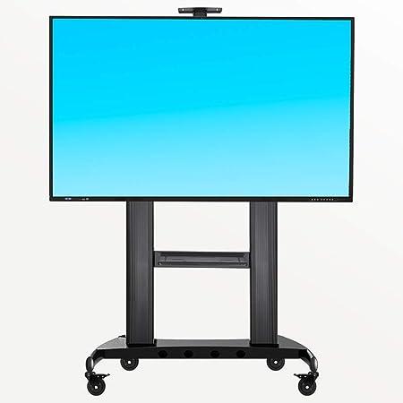 YUIOLIL Soporte de Pantallas de TV LED OLED LCD de 60-100 Pulgadas para el hogar con Ruedas Soporte de TV de Piso Ajustable: Amazon.es: Hogar