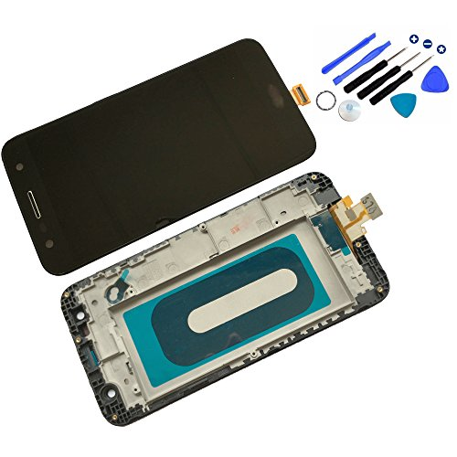 Eaglestar for LG X Power 2 M320 M322 X Charge X500+Tools Full LCD Assembly with Touch Screen Digitizer and LCD Pre-Installed Replacement with Frame Housing