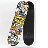 Beginner Children Boys Step Skateboard Adult Girls Street Travel Four Rounds Bilateral Tilt Skateboard (Color : Playing Card)