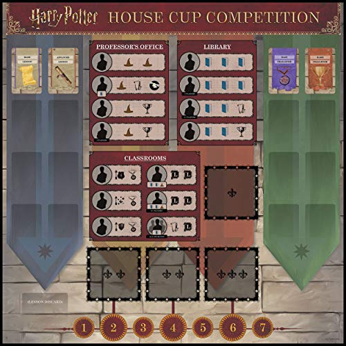USAOPOLY Harry Potter House Cup Competition | Worker Placement Board Game | Play as Your Favorite Hogwarts House | Officially Licensed Harry Potter Game