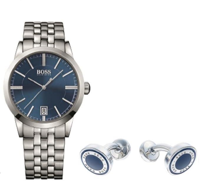 Hugo Boss Gemelos 1570045 con reloj 1513135