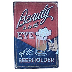 Beer Alcohol Drinking Funny Tin Sign Bar Pub Diner...