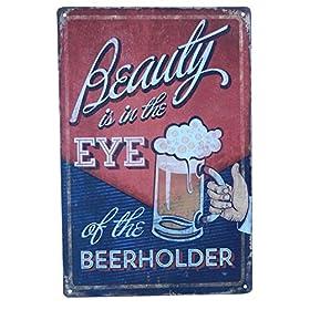 Beer Alcohol Drinking Funny Tin Sign Bar Pub Diner Cafe Wall Decor Home Decor Art Poster Retro Vinta