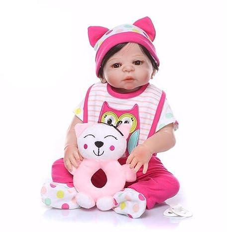 Muñeca realista de silicona para bebé Reborn Baby Doll, 48 ...