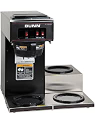 Bunn VP17 3 13300 0013 Low Profile Pourover Coffee Brewer With 3 Warmers Bunn 13300 0013