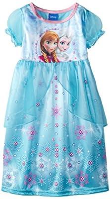 Disney Princess Girls Fantasy Gown Nightgown Pajamas
