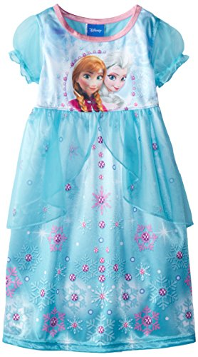 Disney Princess Girls Fantasy Gown Nightgown Pajamas