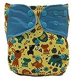Baby's Swim Diaper Reuseable Washable Shorts Adustable Diaper Pocket