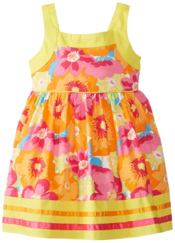 Sweet Heart Rose Little Girls' Floral Print Sundress, Multi,