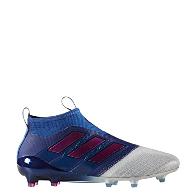 new concept c6c7c 85431 adidas Ace 17+ Purecontrol FG Homme Chaussures Football Bleu