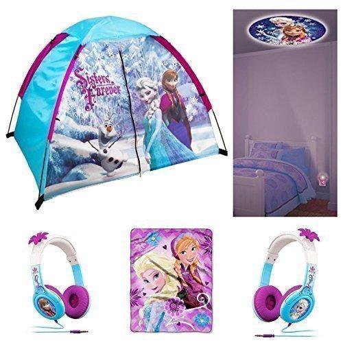 51T-DuR58SL.01_SL500_.jpg  sc 1 st  The Best Headphones and Reviews & Disney Frozen Kids 4 Piece Indoor / Outdoor Camp Set - Play Tent ...