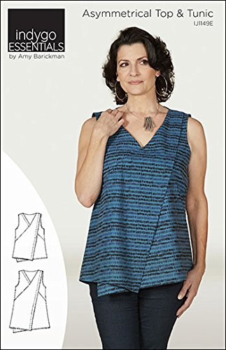 Amazon.com: Indygo Junction Essentials Asymmetrical Top and Tunic ...