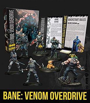 Knight Models Juego de Mesa - Miniaturas Resina DC Comics Superheroe - Batman Bat-Box Bane Venom Overdrive: Amazon.es: Juguetes y juegos
