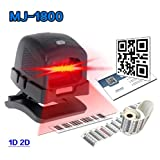 Directional Scanner 2D Scanner Ticketing QR Code Scanner USB Barcode Reader Desktop Auto Sense No Press Button