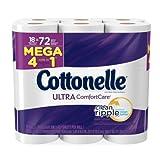 #8: Cottonelle Toilet Paper, Ultra ComfortCare, 18 Mega Rolls