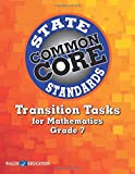Transition Tasks for Common Core State Standards, Math Grade 7