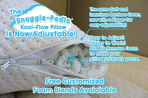 Snuggle Pedic really Luxury Bamboo Bed Pillows
