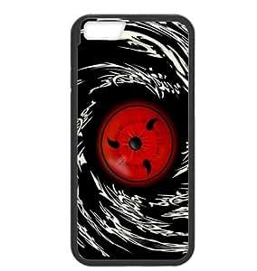 "Naruto Uchiha Itachi Sharingan Eye Cartoon Durable (Laser Technology) Hard Plastic and TPU Cover Case For iPhone6 4.7"""