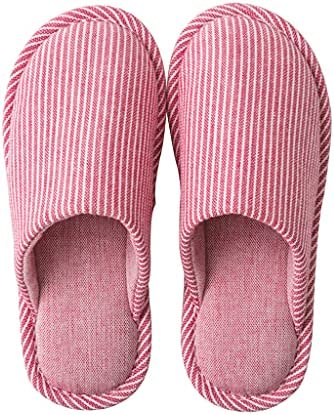 House Slippers Arch Support Cotton Fabric Home Slippers Indoor Shoes Ladies Non Slip Slippers Indoor Slippers For Men S Women S Bedroom Shoes Lightweight Color Red Size Eur42 43 Price In Saudi Arabia
