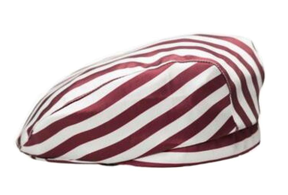 Black Temptation [Stripe-2] Kitchen Chef Hat Restaurant Waiter Beret Bakery Cafes Beret