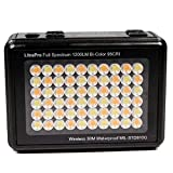 LitraPro Premium On-Camera Photo and Video Bi Color Waterproof LED Light