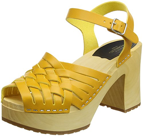 warm Gullan Yellow Warm Swedish Femme Hasbeens Jaune Yellow Sabots qHxxOX5wZ